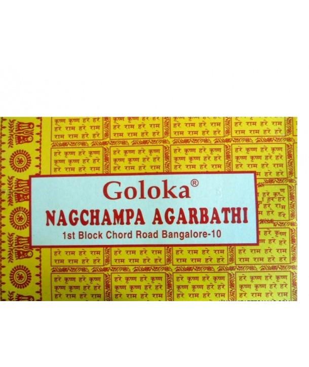 Incienso Champa Goloka 16 Grs.