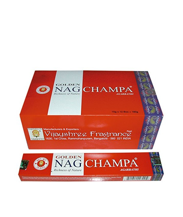 Incense Golden Champa 15 Grs.