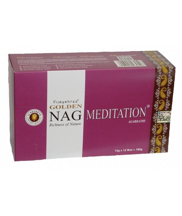 Incense Golden Nag Meditation 15 grs.
