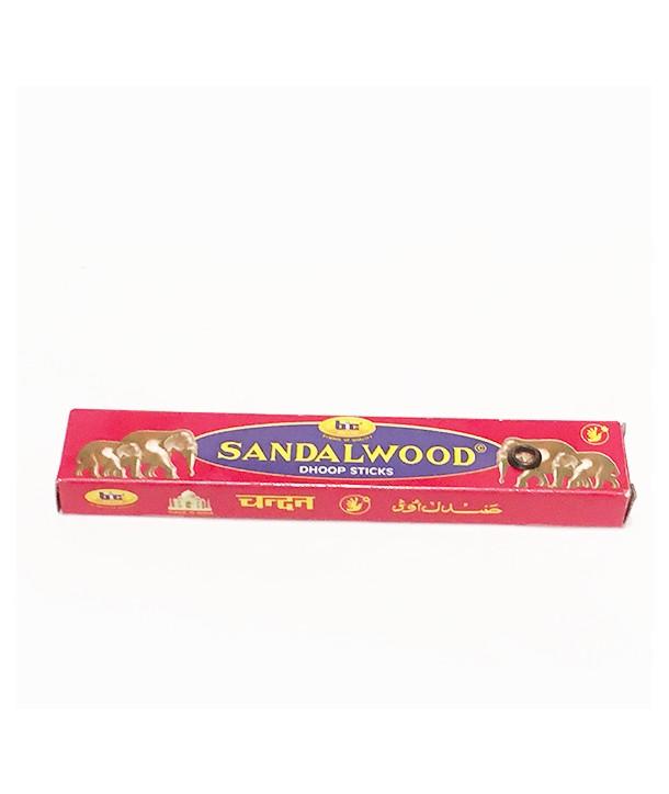 Incense Sandalwood Bic Dhoop 10 Grs.