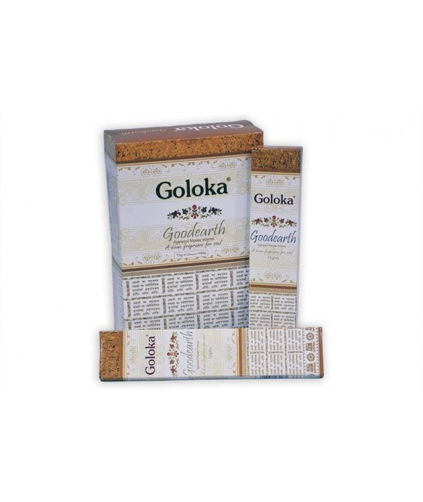 Incense Good Earth Masala Goloka 15 Grs.