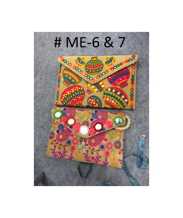 Gujarati bags embroidered