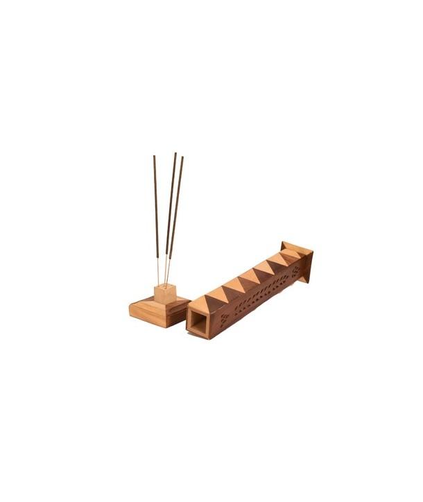 Wooden Incense Burner Tower