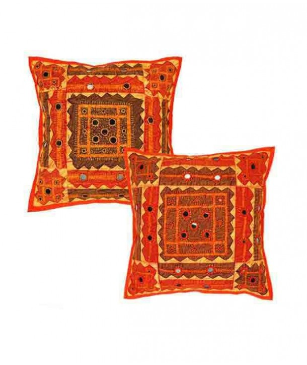gujrati cusion cover embroided