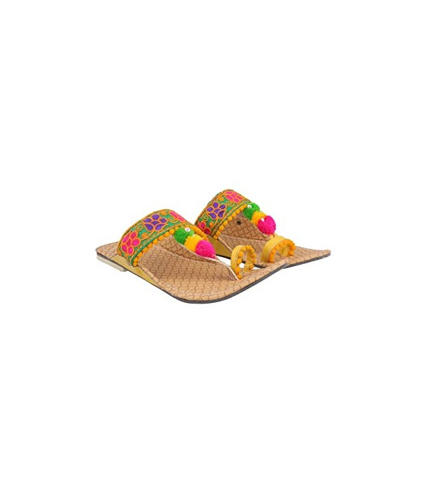 kolhapuri chappal embroided (women)
