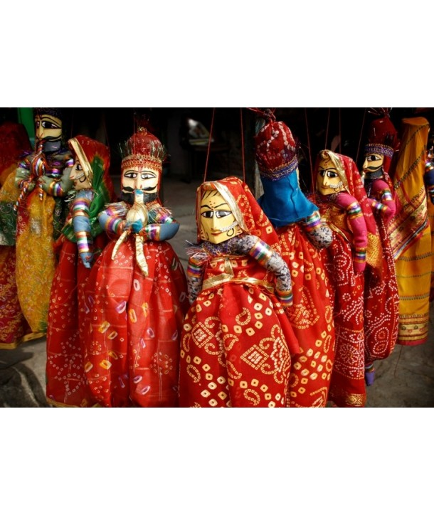 Indian Katputli For Decoration