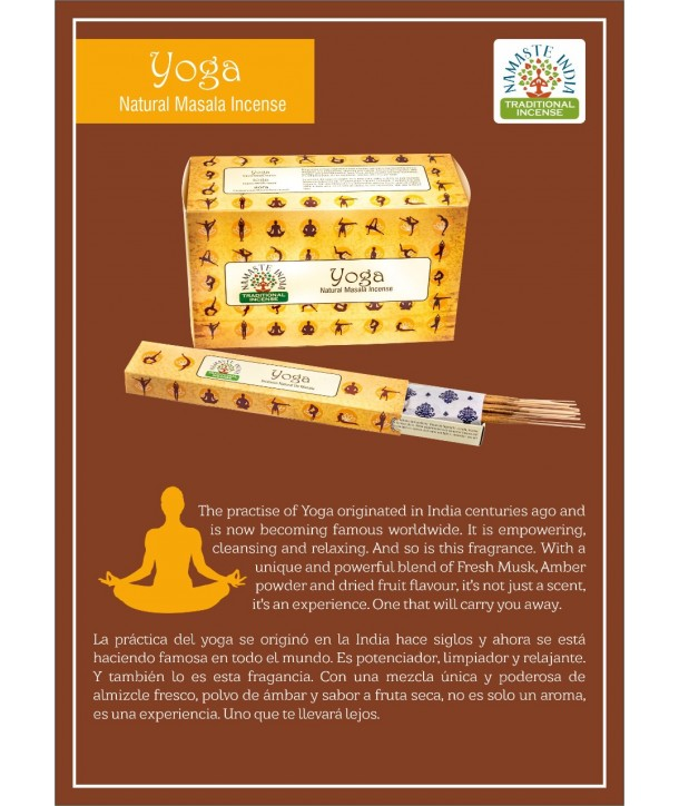 Yoga Natural Masala Incense