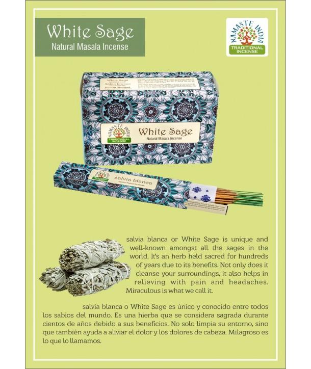 White Sage Natural Masala Incense