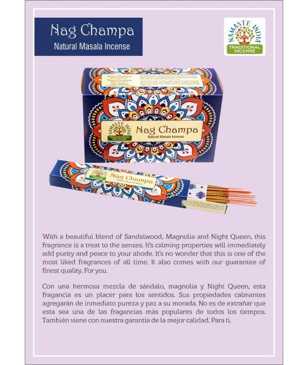 Nag Champa Natural Masala Incense