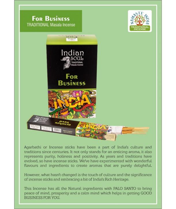 Indian Soul para hacer negocios