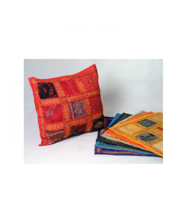 Golden Thread Cushion Cover
