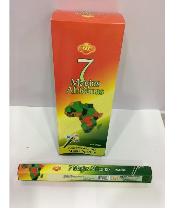 Incense 7 African Spells Sac