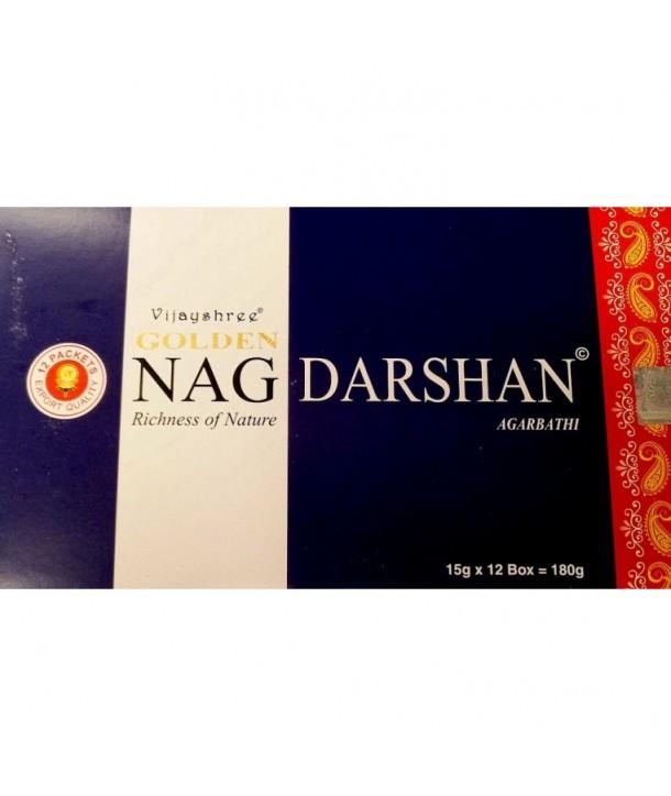 Incense Golden Nag Darshan 15 grs.